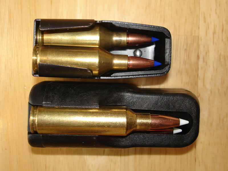 X-Bolt and A-Bolt Magazines Top View